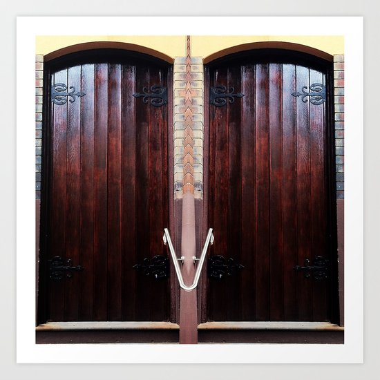 Church Doors Art Print