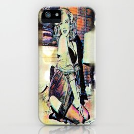By Lamplight iPhone Case
