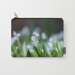 Squill Flowers Carry-All Pouch