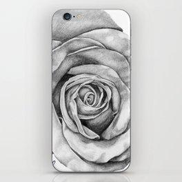 Rose Drawing iPhone Skin