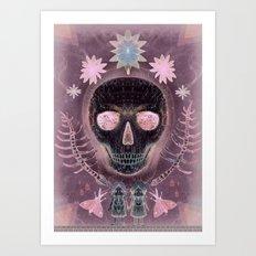 Amethyst Dream Art Print