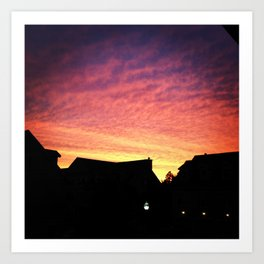 Sailors Delight  Art Print