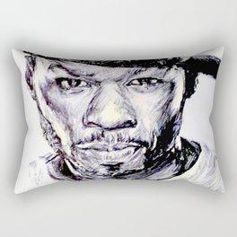 50 Cent Rectangular Pillow