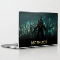 bioshock infinite Laptop & iPad Skins featuring Bioshock by Pixel Design