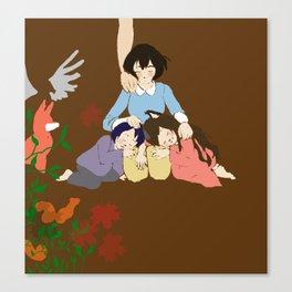 Wolf children Canvas Print