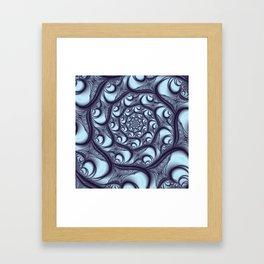 Fractal Web Framed Art Print