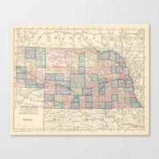 Nebraska Remembered Canvas Print
