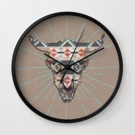 Cow Skull Induco Wall Clock