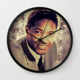 Sam Cooke, Music Legend Wall Clock