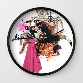 Collag2Nim Wall Clock