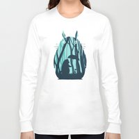 grand theft auto Long Sleeve T-shirts featuring My Neighbor Totoro by filiskun