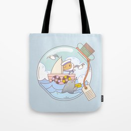 Bubu the Guinea pig, A jar of adventure Tote Bag