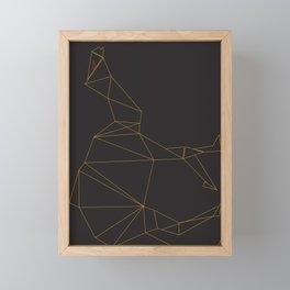 EGYPTIAN SYMBOL CAMEL Framed Mini Art Print