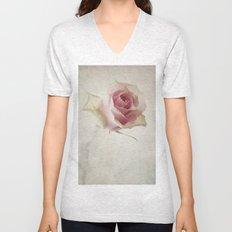 A Flower for You [Textured] Unisex V-Neck
