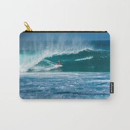Surfing Hawaii Carry-All Pouch