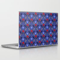 peggy carter Laptop & iPad Skins featuring Agent Peggy Carter: Spying in Style by semisweetshadow
