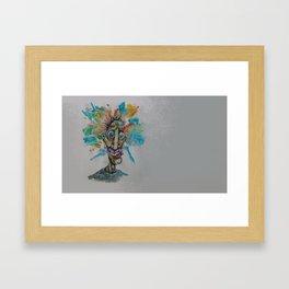 The Cosmic Derp (resized) Framed Art Print