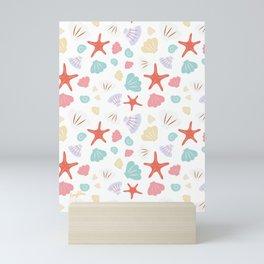 Shells and Stars Mini Art Print