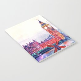 Sunset in London Notebook