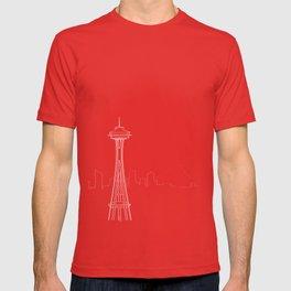 Seattle by Friztin T-shirt