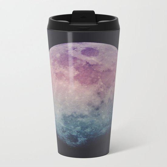 Pastel Moon Metal Travel Mug
