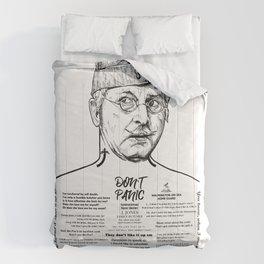 Don't Panic! - Dad's Army Corporal Jones Comforters