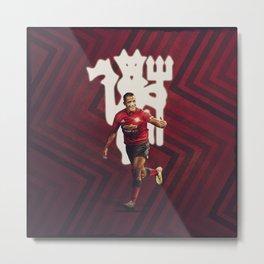 Alexis Sanchez Manchester United Metal Print