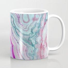 Cotton Candy Agate Slice Coffee Mug