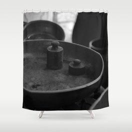 scale Shower Curtain