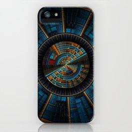 Fractal Art - Future City iPhone Case