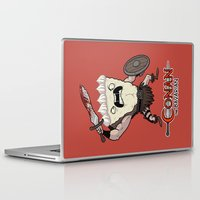 conan Laptop & iPad Skins featuring Conan The Bavarian by Bobby Baxter