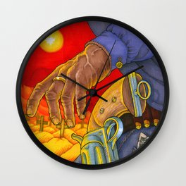 Western Sin / Our Mother the Mountain Wall Clock