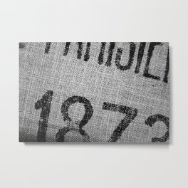 Stamped! Metal Print