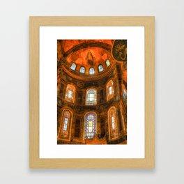 Hagia Sophia Istanbul Framed Art Print