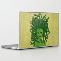 medusa Laptop & iPad Skins featuring Medusa by TheAsmek