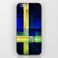 sweden iPhone & iPod Skins featuring Flag: Sweden by Ambassad Collective