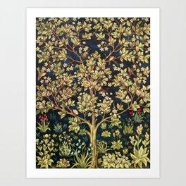 William Morris Tree Of Life Art Print