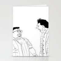 seinfeld Stationery Cards featuring Seinfeld by visualinterpreter