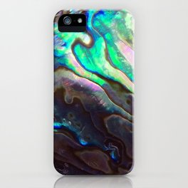 Pearlescent Abalone Shell iPhone Case