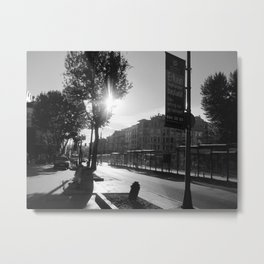 Turkish Avenue Metal Print