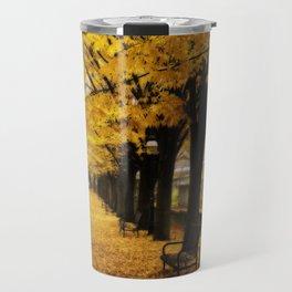 Autumn's Gold Travel Mug