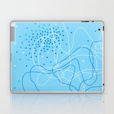 Blue april Laptop & iPad Skin