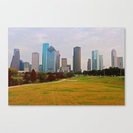 Industrial Autumn Canvas Print