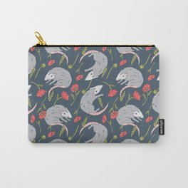 Possums and Poppies Carry-All Pouch