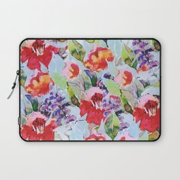 campagne fleurie Laptop Sleeve