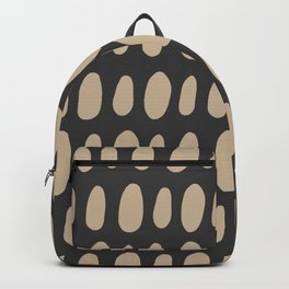Brush Strokes Gold Backpack