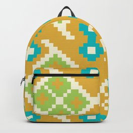 Colorful Spots Native Aztec Pattern Backpack