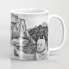 The Whale, The Castle & The Smoking Cat Mug