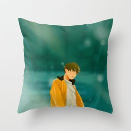 Euphoria Jungkook Throw Pillow