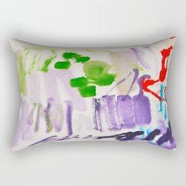 Doodles Paper by Elisavet World Rectangular Pillow